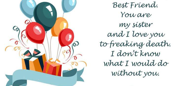Bestfriend Birthday